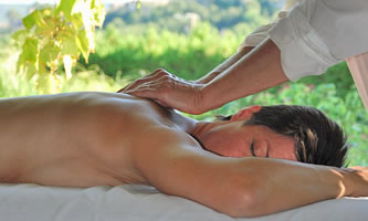 Massage in the nature